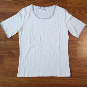 🔥2for$20Christian Dior parfums basic white tshirt